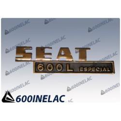 REF. 5019 ANAGRAMA SEAT 600 L ESPECIAL
