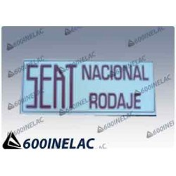 REF . 5280 PEGATINA SEAT NACIONAL RODAJE.