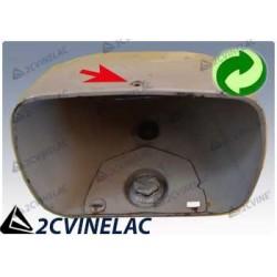 REF 4493. CARCASA OPTICA RECTANGULAR 2CV M/N.